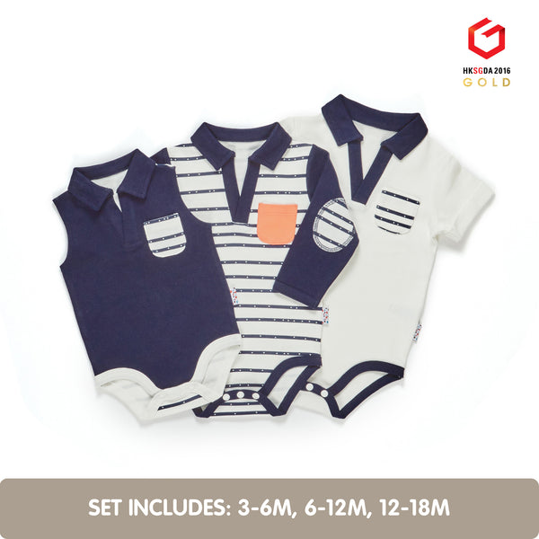 Growing Kit for 3-Month Old Summer Baby Boys (Line Dance)