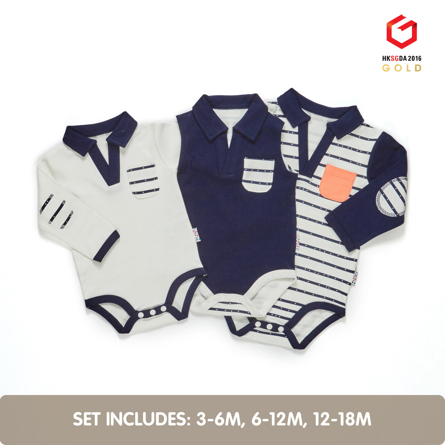 Winter Growing Kit for 3-Month Old Baby Boys (Line Dance)