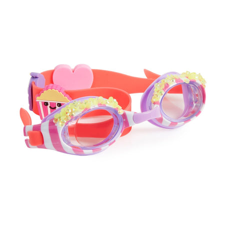 "Bling2o: ""Hip Pop"" Swim Goggles (Kettle Corn Coral)"