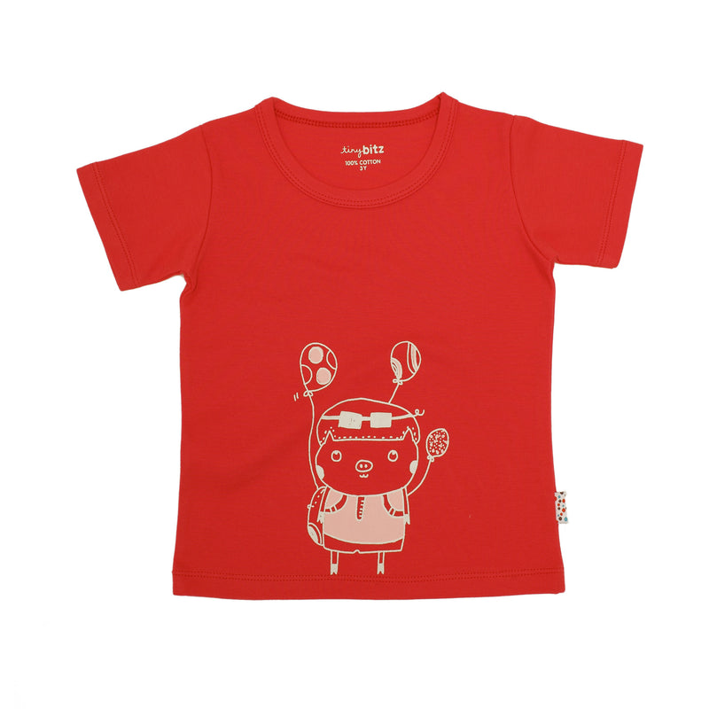 Summer Tee - Raspberry (1Y only)