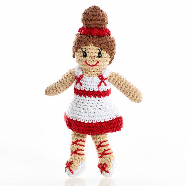 Pebble Ballerina Rattle