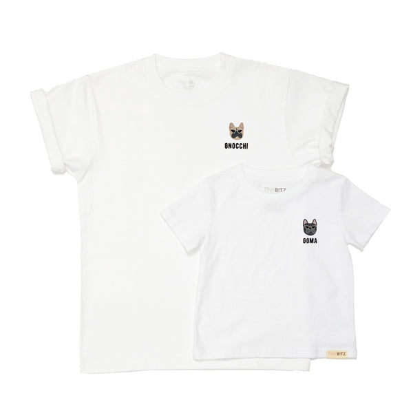 TinyBitz x GG: Personalized Tee (Frenchie)