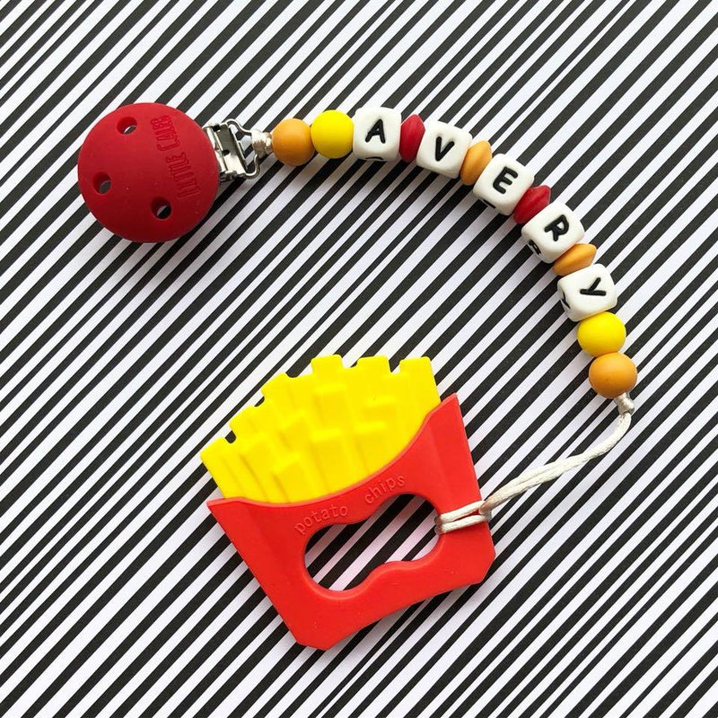 Personalized Teether: French Fries