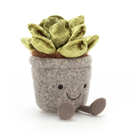Jellycat Soft Toy: Silly Succulent - Jade