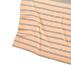 Personalized Blanket for Babies or Kids (Stripes on Light Grey Background)