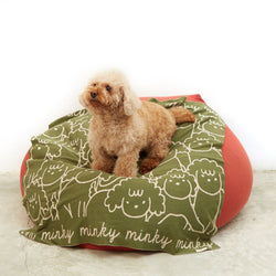 TinyBitz x GG: Personalized Blanket for Poodle