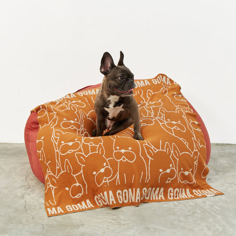 TinyBitz x GG: Personalized Blanket for Frenchie