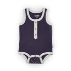 Singlet Onesie (Twinkly Nights - Navy)