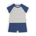 Play-Tee and Bib Set (Tiny Dots - Grey)