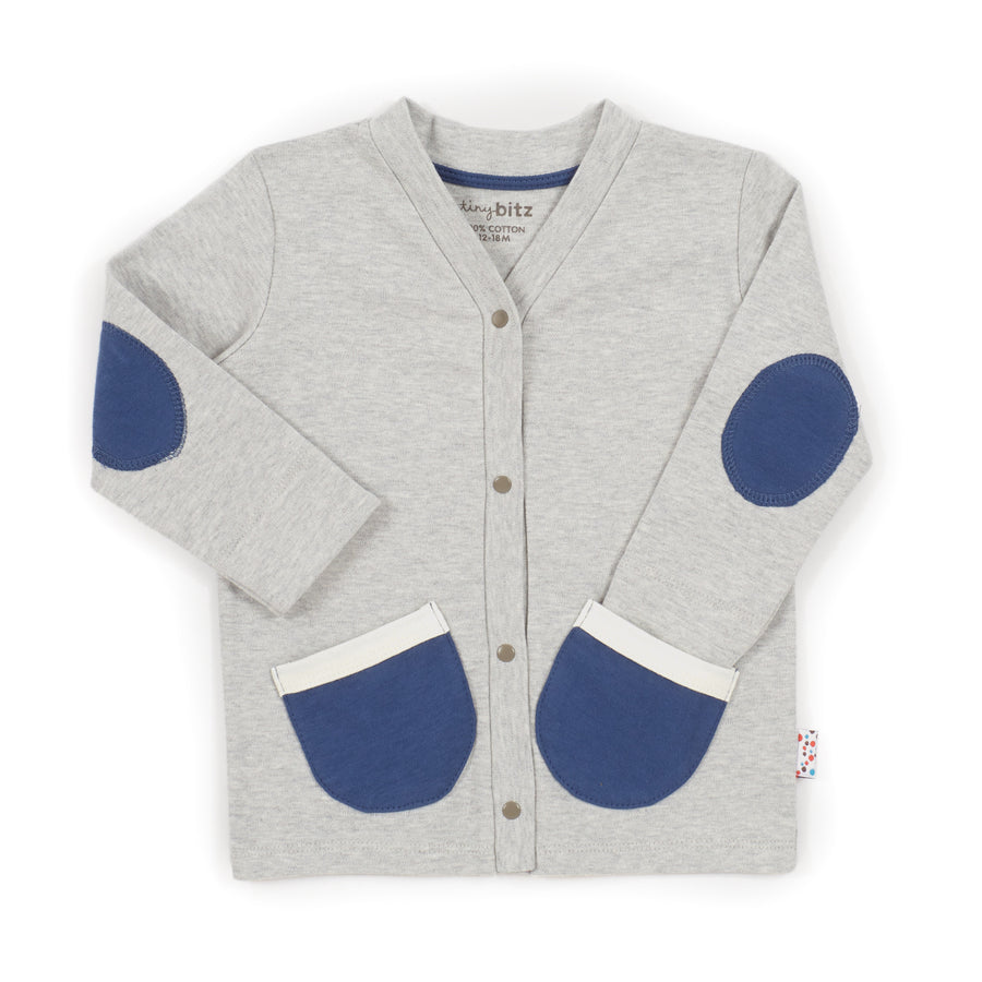 Cardie (Tiny Dots - Grey)