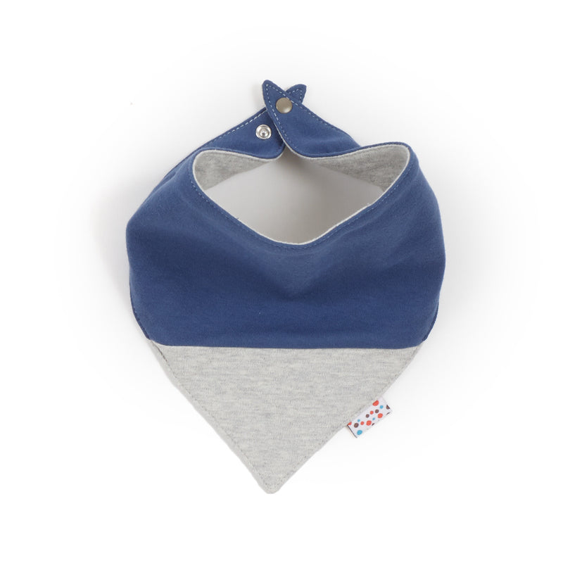 Neckerchief (Tiny Dots - Grey)