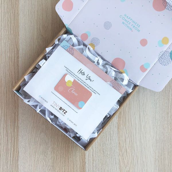 TinyBitz Gift Card (Personalized Blankets)
