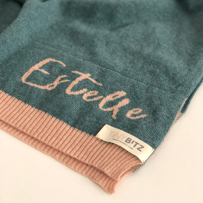 Personalized Scarf (Merino Wool)