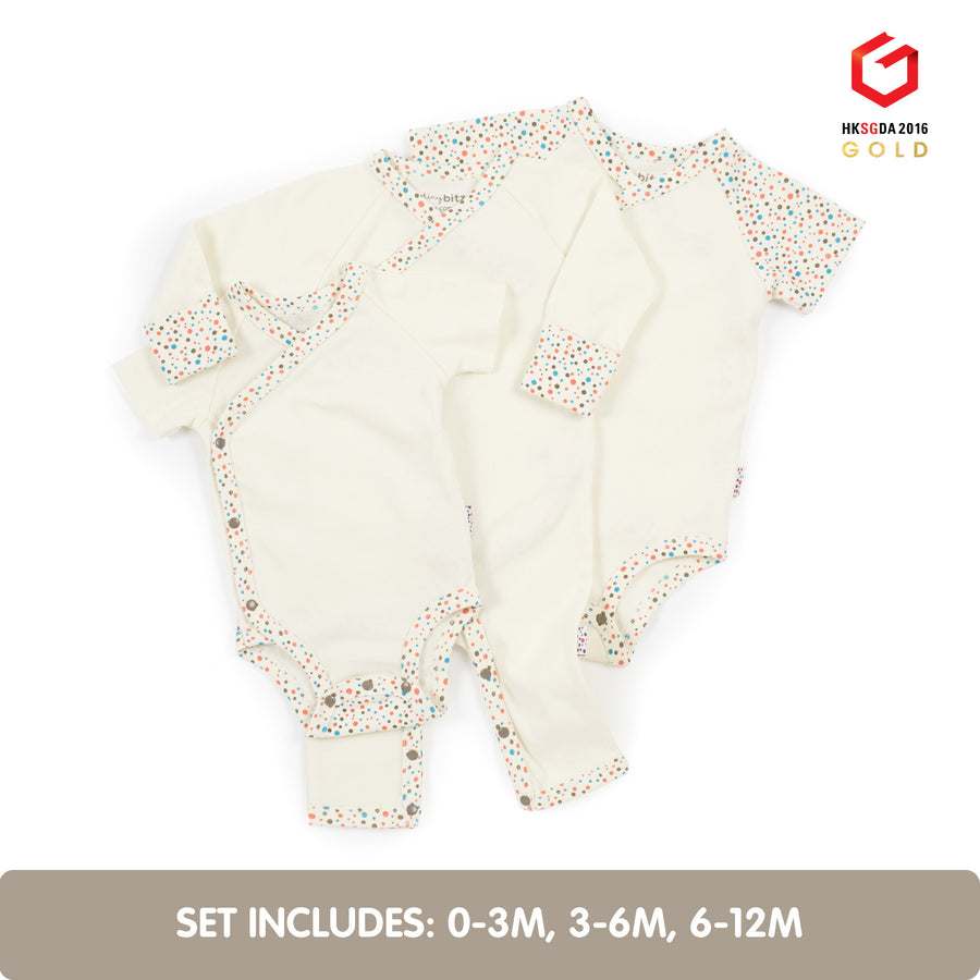 Summer Growing Kit for Newborn Babies (Tiny Dots)