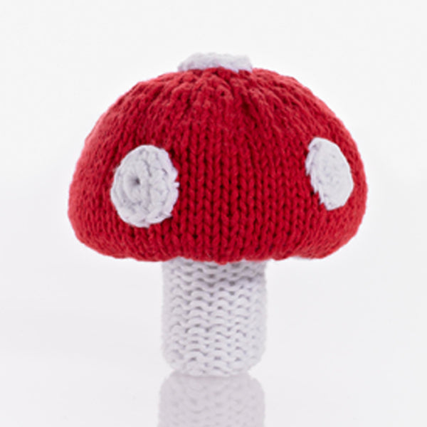 Pebble: Toadstool Rattle