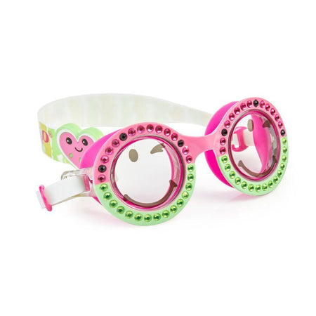 Bling2o: 'Wacky Watermelon' Swim Goggles (Round)