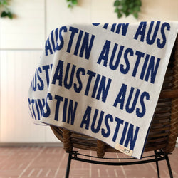Personalized Blanket for Adults (White Background)