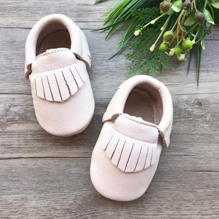 Accessories: Leather Moccasins (Classic Birch)