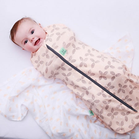 Ergo Cocoon: Swaddle Sleeping Bag (Petals)