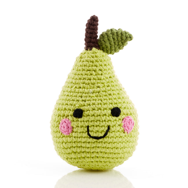 Pebble : Friendly Fruit Pear - Rattle
