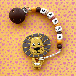 Personalized Teether: Lion