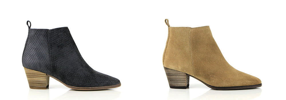 Seven Boot Lane - 'Erin' mid-heel ankle boot