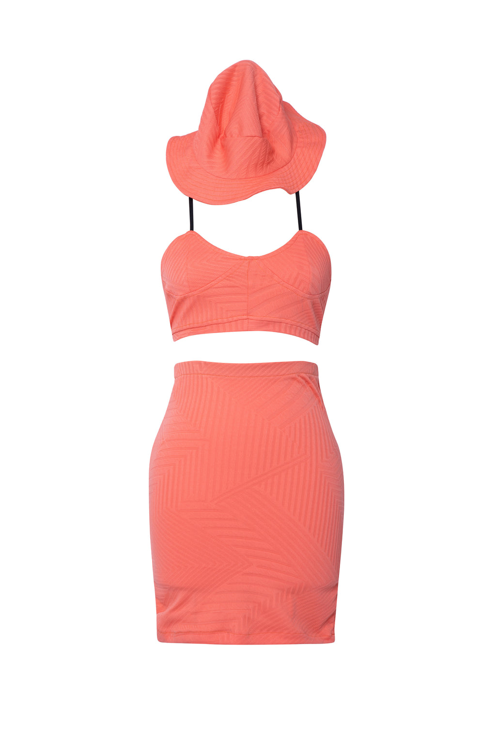 Lux Orange 4 PIece