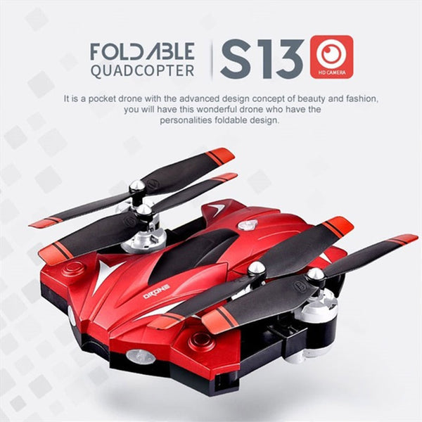 Drone With Camera 720P HD 0.3W  Helicopter Full HD Camera Drone Professional
