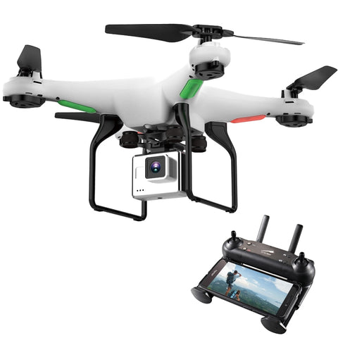 Drone With Camera 720P HD 0.3W White Hover Helicopter