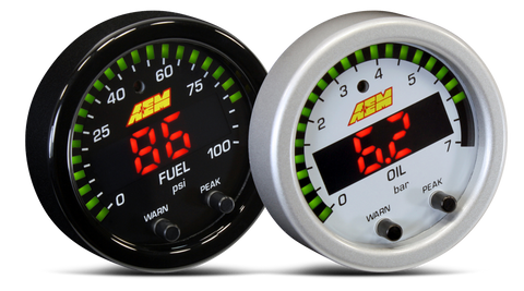 AEM X-Series 100PSI / 7 BAR Pressure Gauge