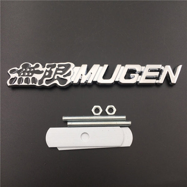 Auto Styling Grille Badge MUGEN Emblem For Honda Accord Civic CRV Crosstour H-RV nsx Pilot Odyssey City CRZ Fit Spirior AVANCIER - thegzcar
