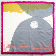 Dash cotton/silk scarf