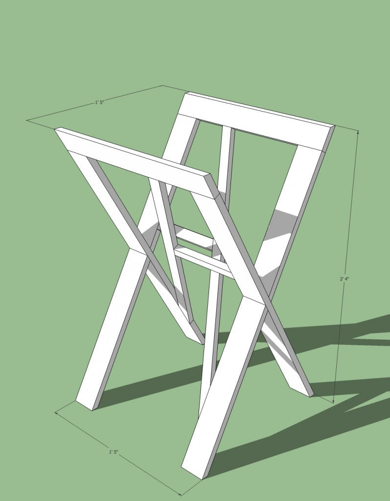 Tray stand version IV