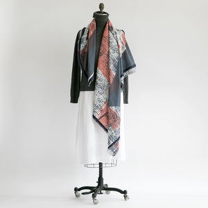 Large square scarf - PilgrimWaters | designer & makers