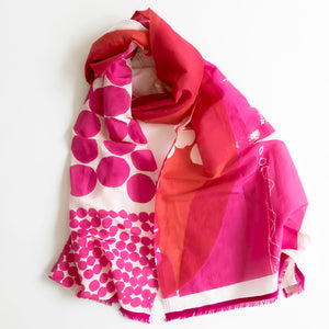 Cotton Silk midi | scarves - PilgrimWaters | designer & makers