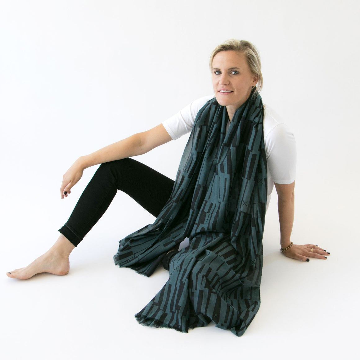 Cotton silk large | Scout scarf - PilgrimWaters | designer & makers