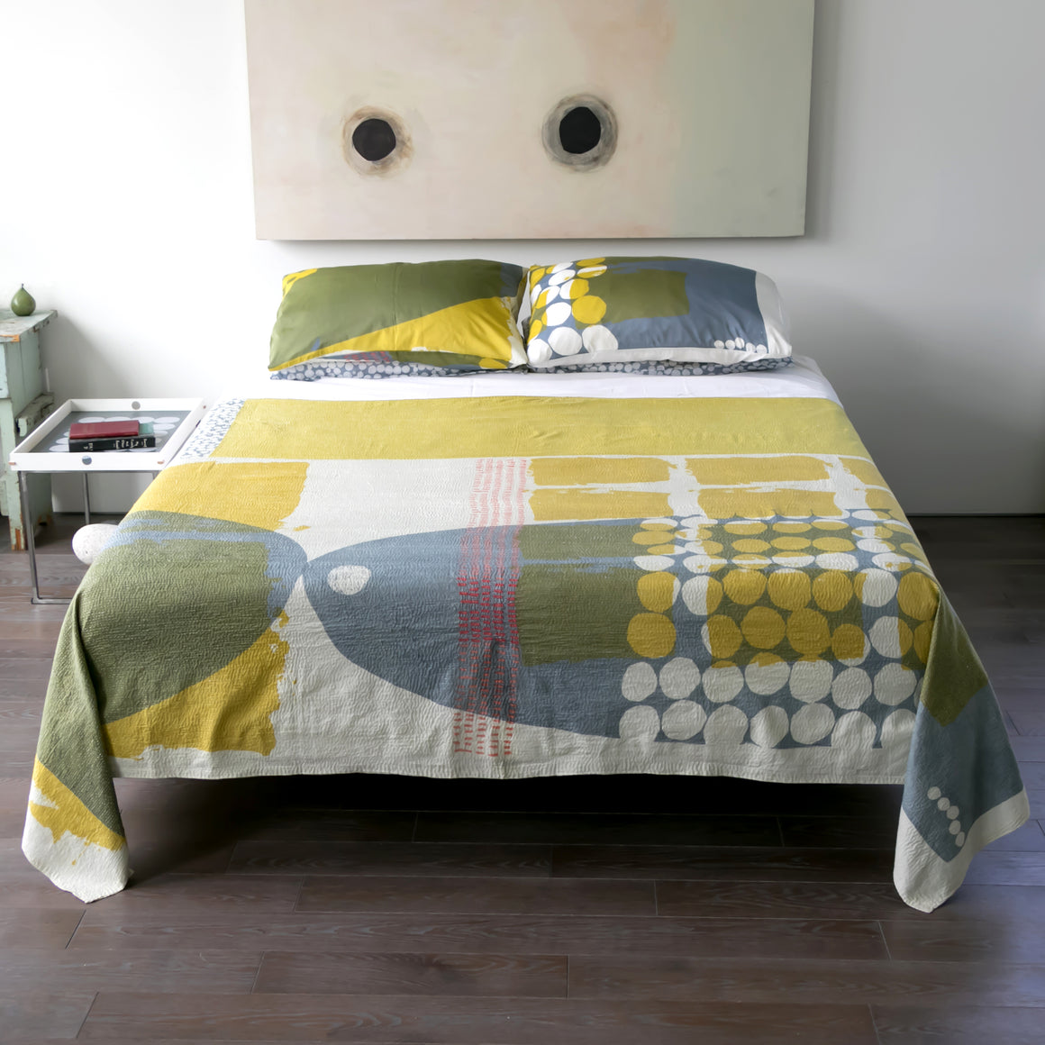 Throw Quilt | Dash - PilgrimWaters | designer & makers