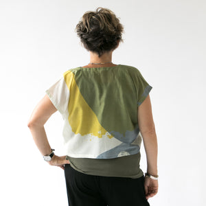 Crop tops | cotton silk - PilgrimWaters | designer & makers