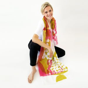 Cotton Silk large | Archie scarf - PilgrimWaters | designer & makers