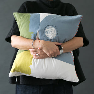 One-of-a-kind cushions covers - PilgrimWaters | designer & makers