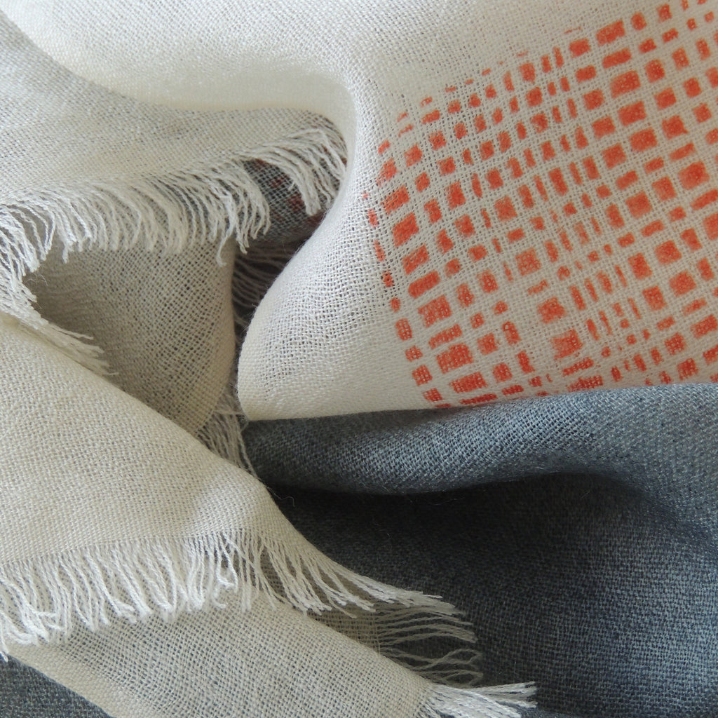 Scarf Boulder - PilgrimWaters | designer & makers cashmere and merino scarves