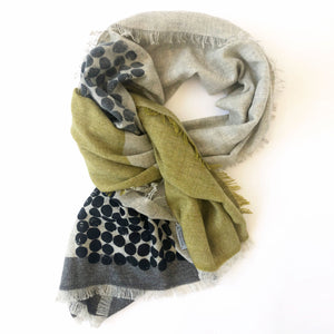 Cashmere scarf | Field - PilgrimWaters | designer & makers