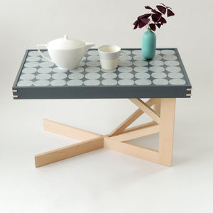 Side table and slim large tray - PilgrimWaters | designer & makers