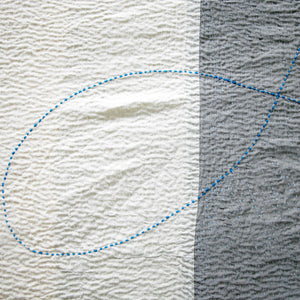 Throw Dove | silk & cotton - PilgrimWaters | designer & makers