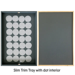 Tray slim trim | handmade USA - PilgrimWaters | designer & makers