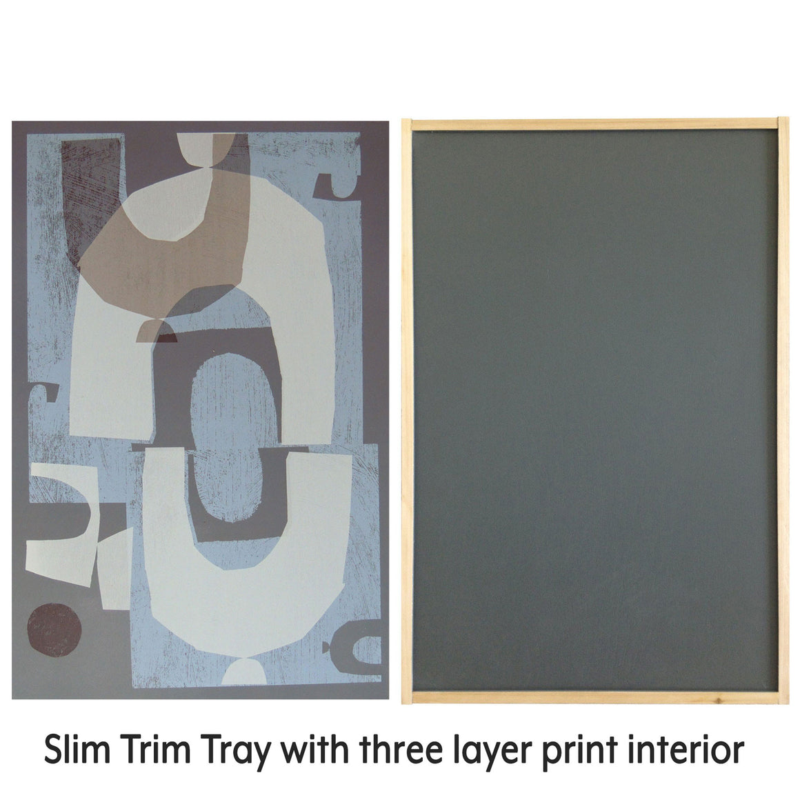 Tray slim trim