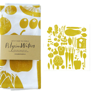 Tea Towels | 100% cotton - PilgrimWaters | designer & makers