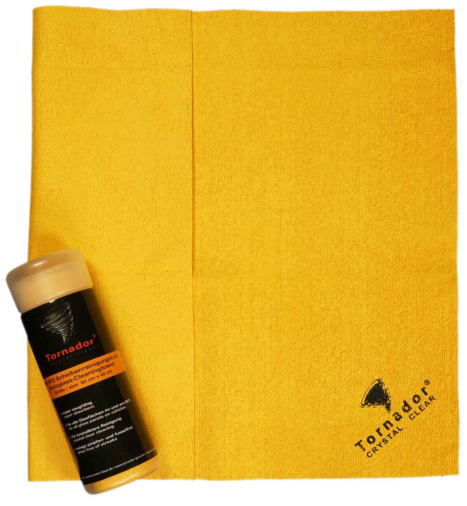 Tornador Crystal Clear - Glass Cleaning Cloth - International Tool Company