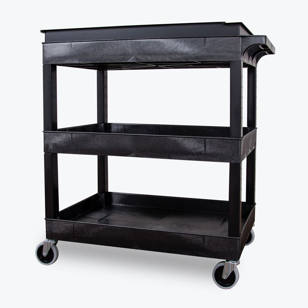 EC111-B Utility Cart with Locking Toolbox - International Tool Company