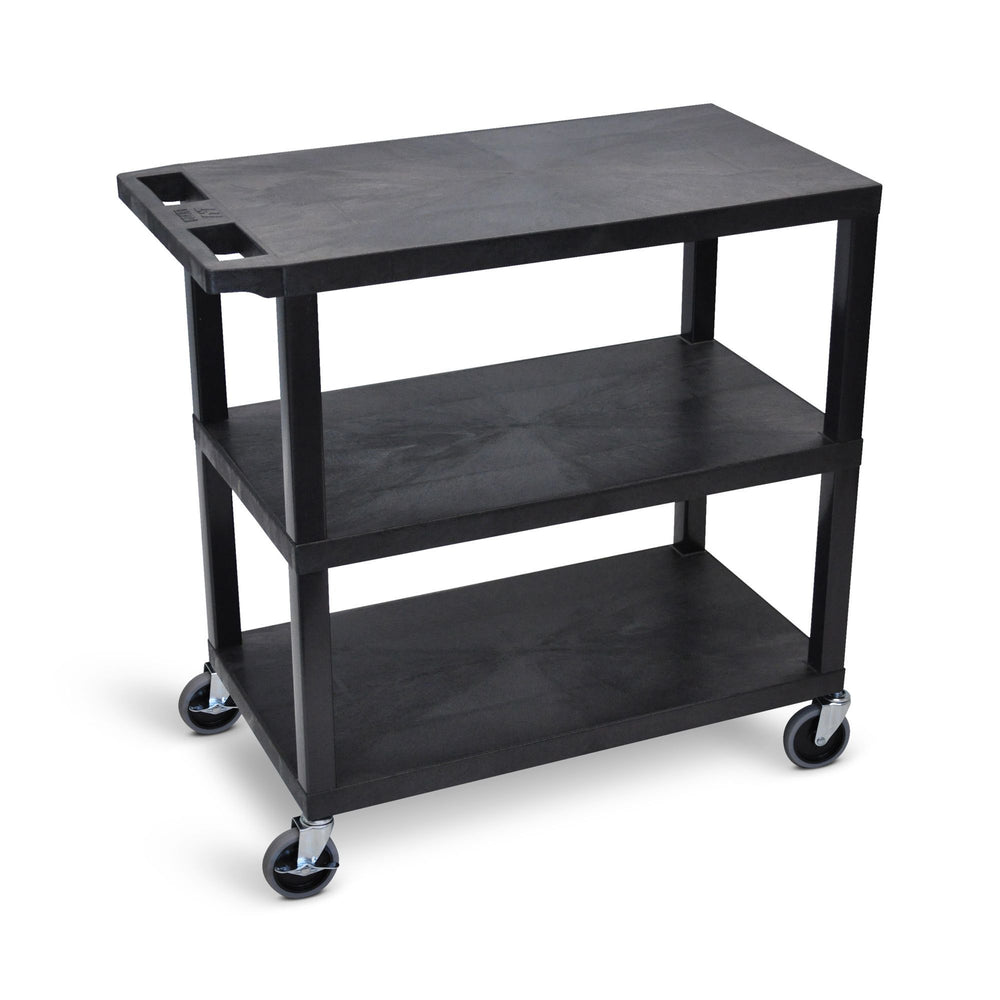 "32"" x 18"" Cart - Three Flat Shelves - International Tool Company"